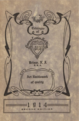Cover of a 1914 trade catalog.